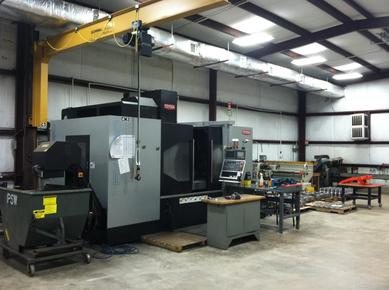 machine shops in conroe